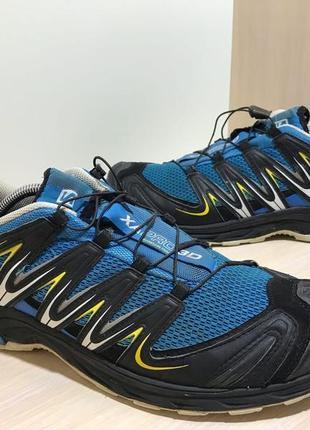 Мужские треккинговые кроссовки salomon