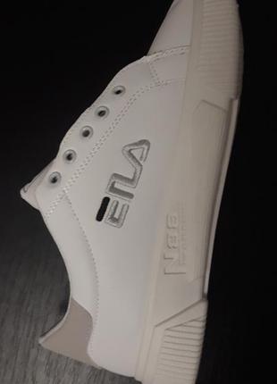 Размер 38 женские кроссовки (кеды) качественная копия filа белые