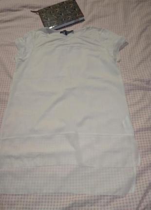 Легенькая летняя блуза удлиненная-m