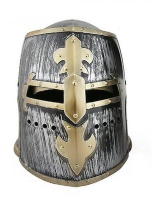 Маскарадный шлем рыцаря-крестоносца