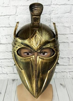 Маскарадный шлем троянца историческая тематика троя
