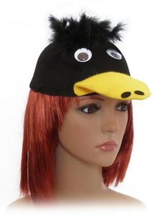 Маскарадная шляпка ворона
