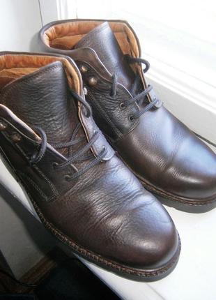 Ботинки clarks 165917 g оригінал натуральна кожа і всередині кожа