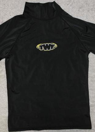 Twf футболка сноркелинг плаванье уф защита короткий рукав