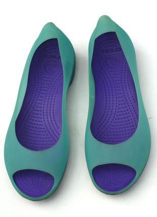 Туфли crocs резиновые