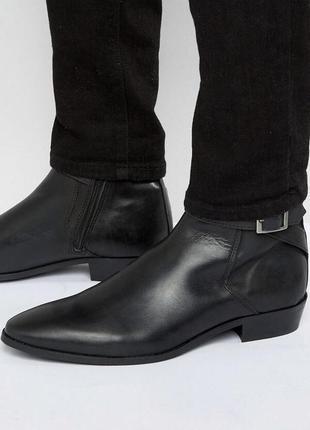 Стильные ботинки 💯 % кожа деми новые размер 40