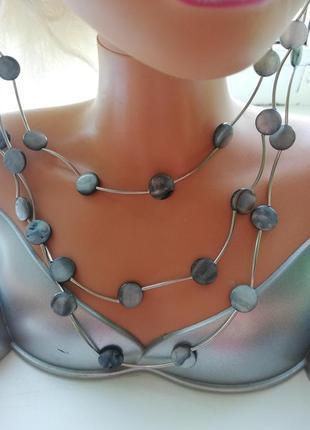 Колье, ожерелье, качественная бижутерия