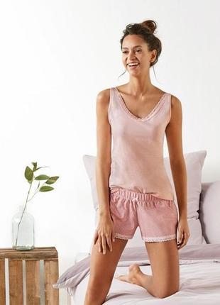 Нежная пижама домашний костюм esmara германия распродажа
