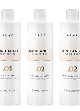 Brae bond angel plex комплект салона — salon set, 500 мл (75 процедур).