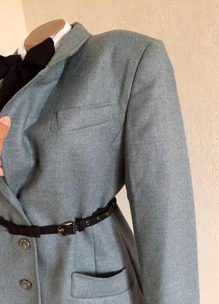 Пиджак,жакет,винтаж,100%шерсть,premium класс,большой размер.
