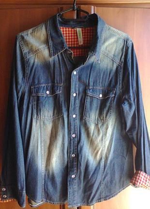 Рубашка джинсовая denim co.