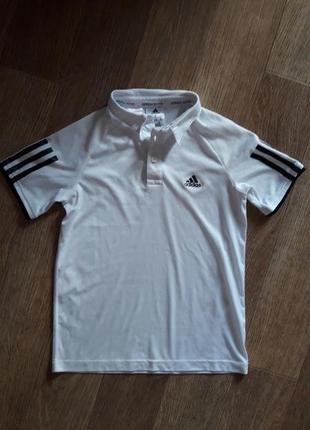 Тенниска футболка поло adidas 134- 140  см