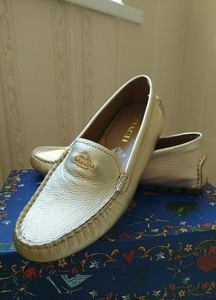 Туфли фирмы coach, оригинал.