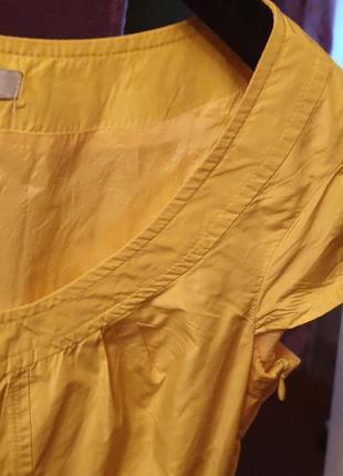 Жёлтый сарафан
