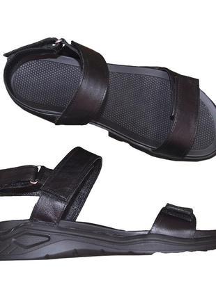 Стильные мужские сандалии на спортивной подошве, в наличии в 40 р.