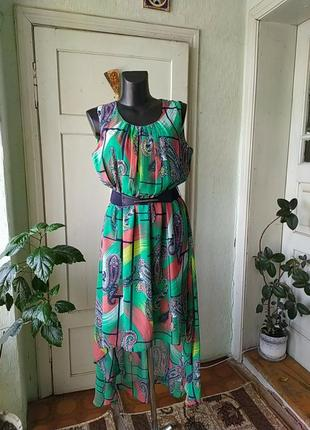 Отличное новое шифоновое платье