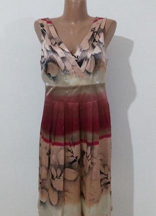 Дуже гарна сукня з натурального шовку