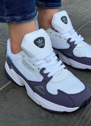 Adidas falcone кроссовки адидас фалкон белый цвет (36-40)💜