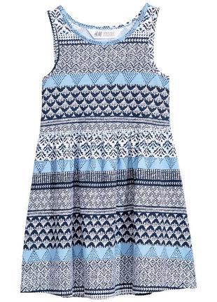 H&m новое платье р. 2-4, 4-6 лет