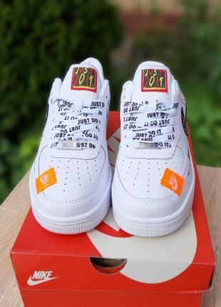Шикарные женские кроссовки nike air force 1 x off-white low just do it pack