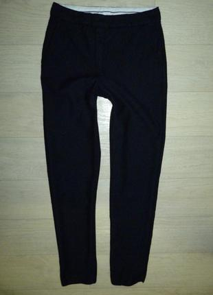 Темно-синие брюки, штаны massimo dutti11-12 лет