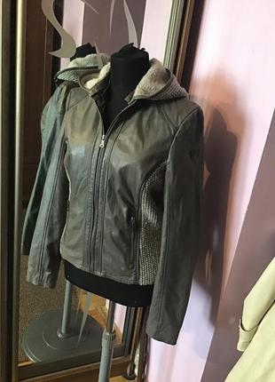 Gipsy стильная женская кожаная куртка на s