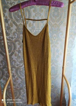 Стильное платье в рубчик   от topshop