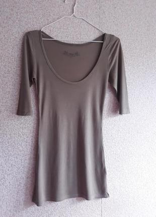 Туника asos essentials цвета dove grey