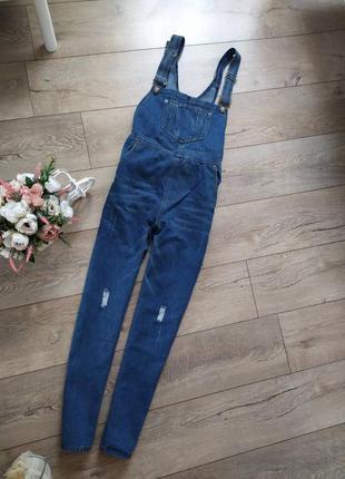 Стильний джинсовий комбінезон актуального кольру2 фото