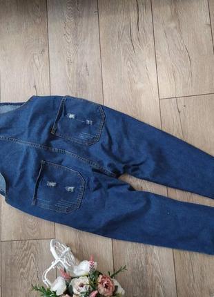 Стильний джинсовий комбінезон актуального кольру3 фото