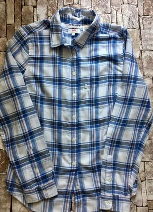 Оригинальная рубашка в клетку levi's