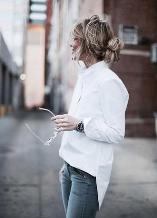 Оригинальгая блуза шлейф