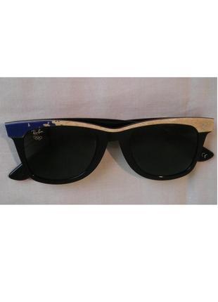 Солнцезащитные очки ray-ban w1713 wayfarer lillehammer 1994 olympic b&l окуляри ray ban