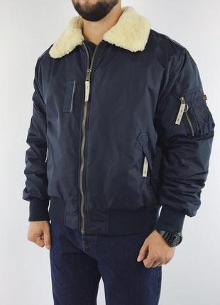 Alpha industries flight jacket injector iii куртка бомбер мужская