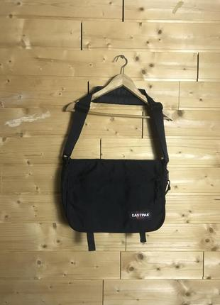 Vintage made in usa eastpak сумка месенджер