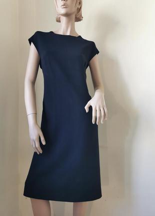Donna karan шерстяное платье