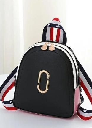 Стильный женский мини рюкзак под marc jacobs.