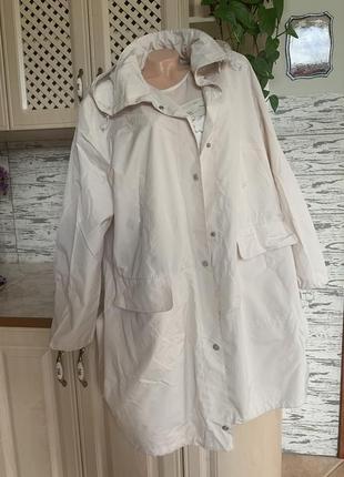 Очень крутая куртка плащ ветровка дождевик большого размера