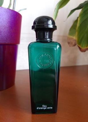 Hermes eau d'orange verte eau de cologne одеколон
