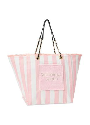 Эффектная сумка шоппер victoria's secret