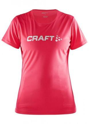 Женская брендовая спортивная футболка для бега фитнеса craft швеция оригинал