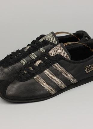 Фирменные кожаные кроссовки adidas special в стиле puma reebok asics