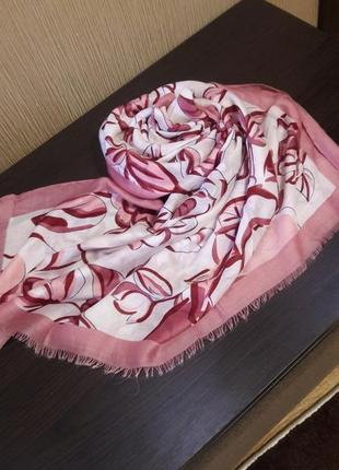 🌿вискоза лёгкий шарф шаль палантины расцветки