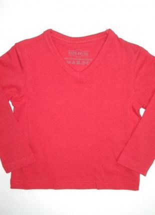 Реглан для хлопчика 086 см (12-18 months) червоний action 56049