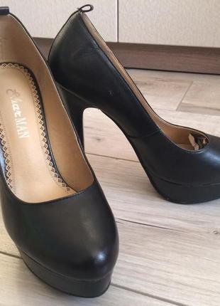 Кожаные туфли sharman