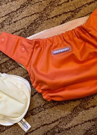 Многоразовый подгузник pantaloon (панталун) коралл