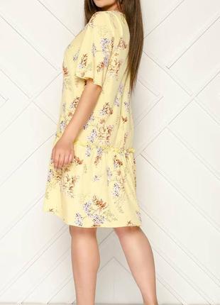 Легкое летнее платье,свободный рукав.