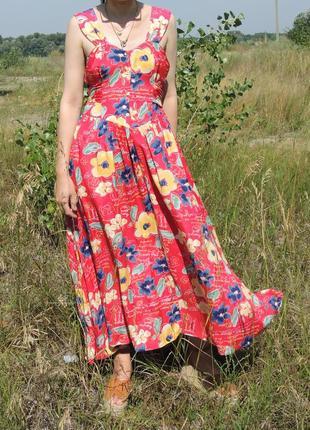 Винтажное платье сарафан