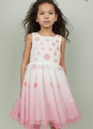 Нарядное платье  на девочку h&m