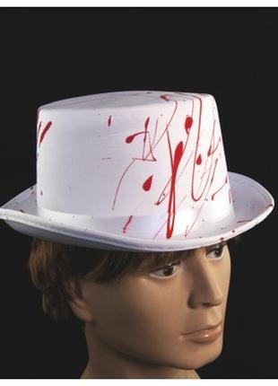 Шляпа цилиндр кровавый джек потрошитель хэллоуин